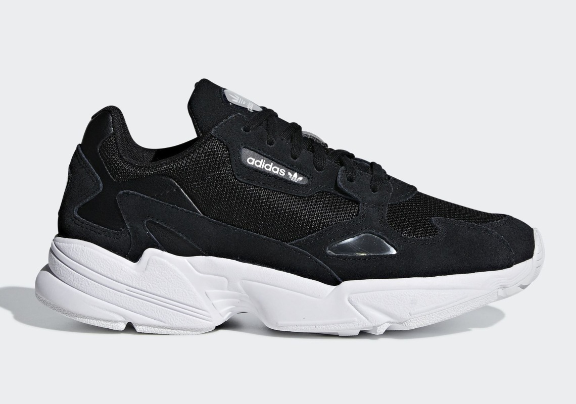watch 27710 c0203 adidas Falcon Release Date September 6th, 2018 100. Color Core  BlackCore BlackCloud White Style Code B28129