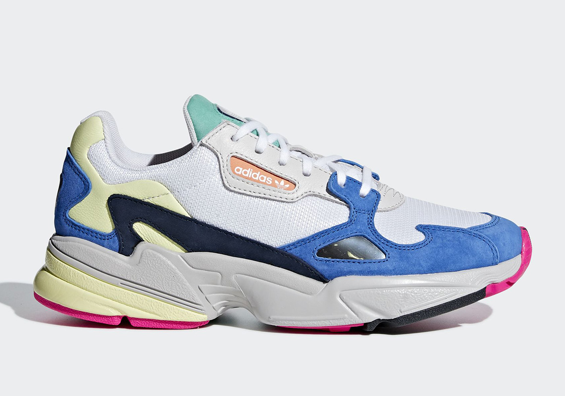 cheap for discount 14c09 47b31 adidas Falcon Release Date September 6th, 2018 100. Color Clear  MintClear MintCollegiate Navy Style Code BB9175