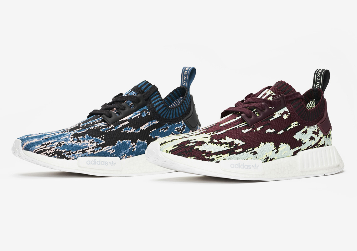 "421b78408 SNS To Release An adidas NMD R1 ""Datamosh 2.0"" Pack"