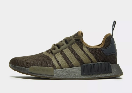super popular 76d03 990b2 The Adidas NMD R1 Drops In A Fall-Ready Military Green