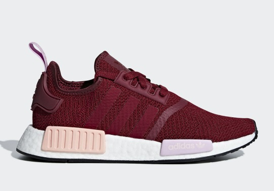 The adidas NMD R1 Adds Collegiate Burgundy