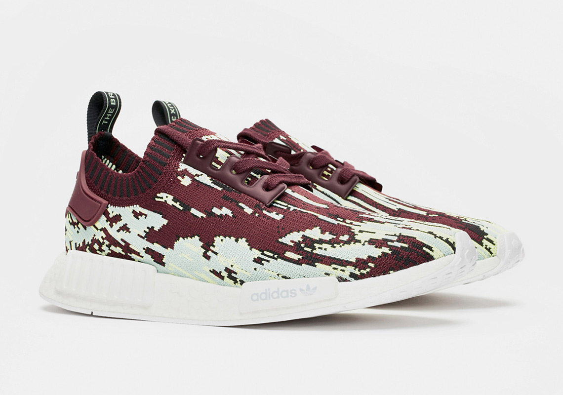 """c1b34ca4c ... the adidas NMD R1 PK """"Datamosh 2.0"""" Pack is slated to drop online and  at all the shop's brick-and-mortar locations on September 22nd."""