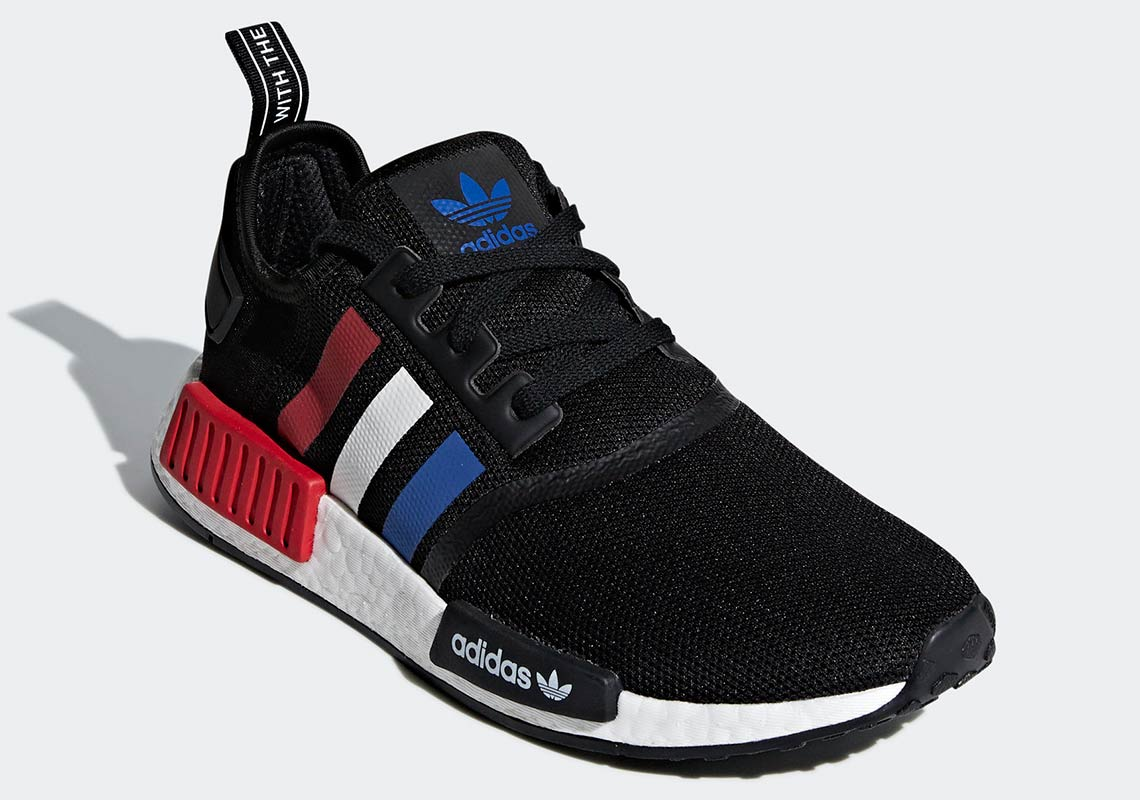 e36c73b668596 adidas NMD R1  130. Color  Core Black Collegiate Royal Footwear White Style  Code F99712