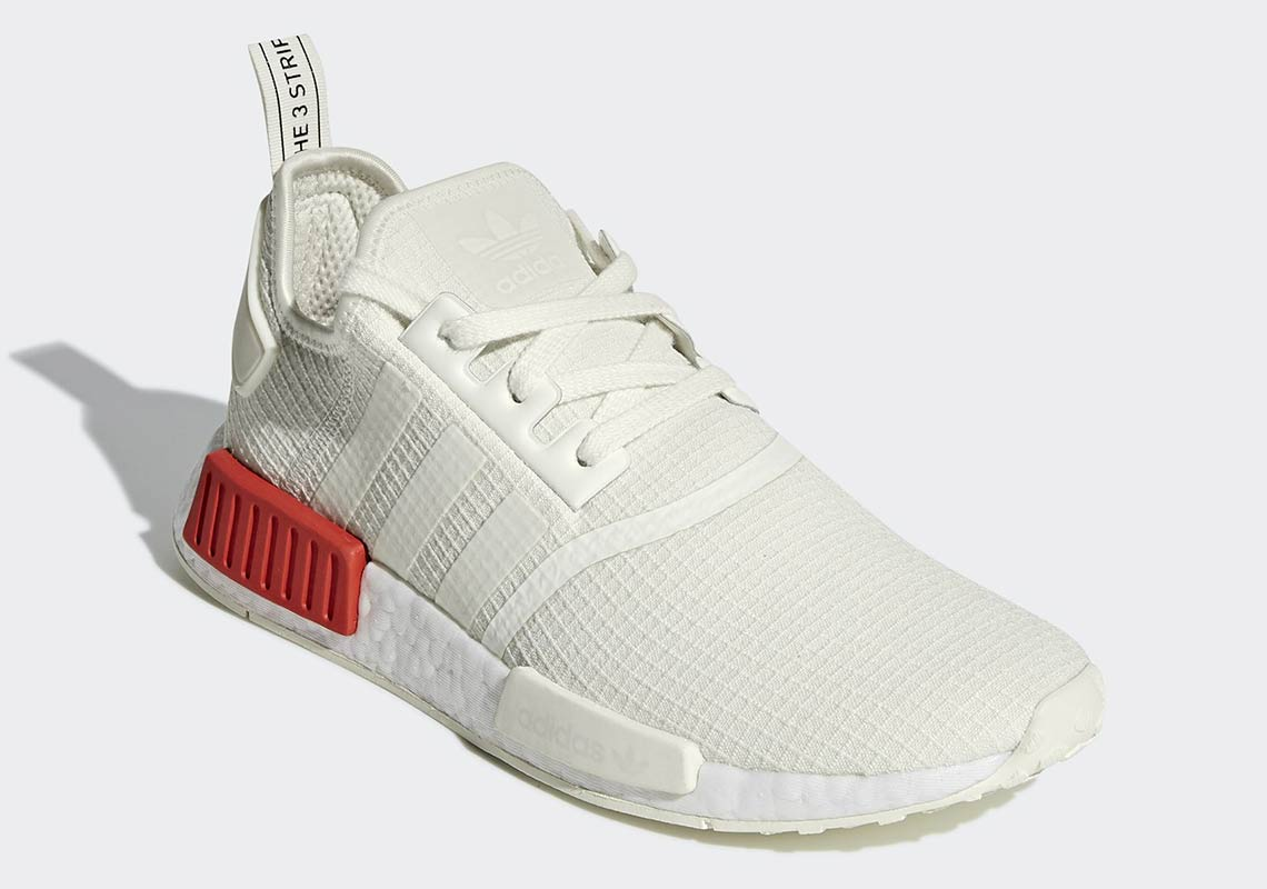 reputable site 86c49 ea234 adidas NMD R1 Lush Red B37618 + B37619 Release Info ...