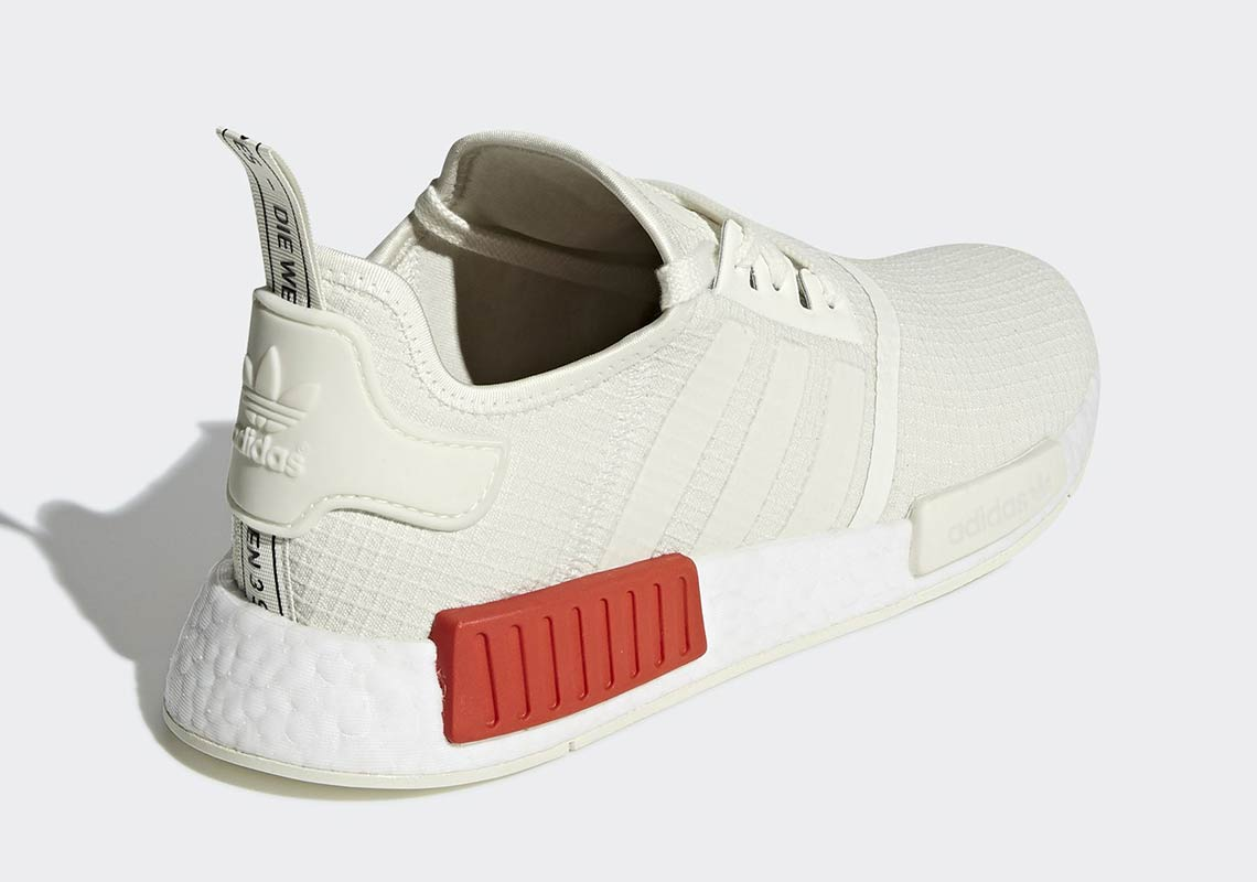 reputable site f3a7e dbd02 adidas NMD R1 Lush Red B37618 + B37619 Release Info ...