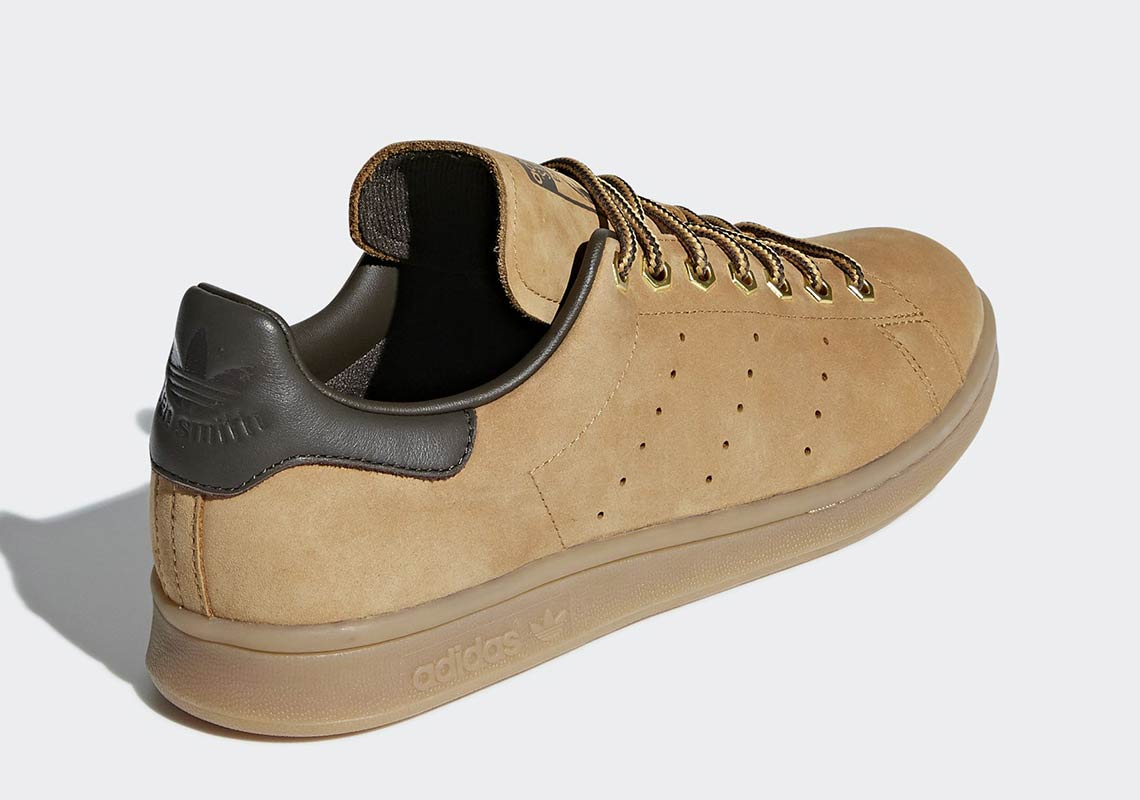 official photos b700f d3583 adidas Stan Smith Wheat B37875 Release Date | SneakerNews.com
