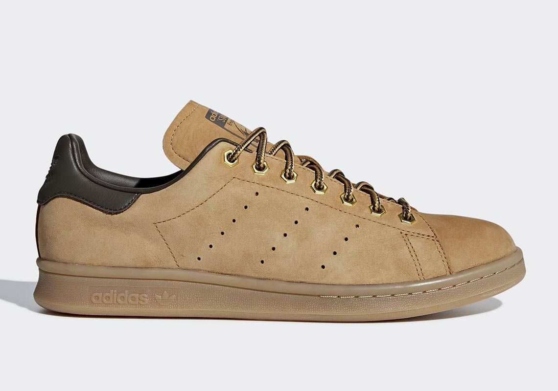 stan smith brown leather