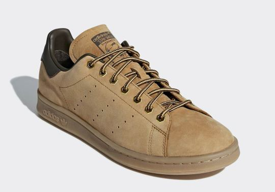The adidas Stan Smith Is Getting In On The Wheat Workboot Action