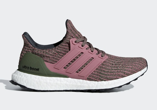 The adidas Ultra Boost 4.0 Returns This Month In Olive And Pink