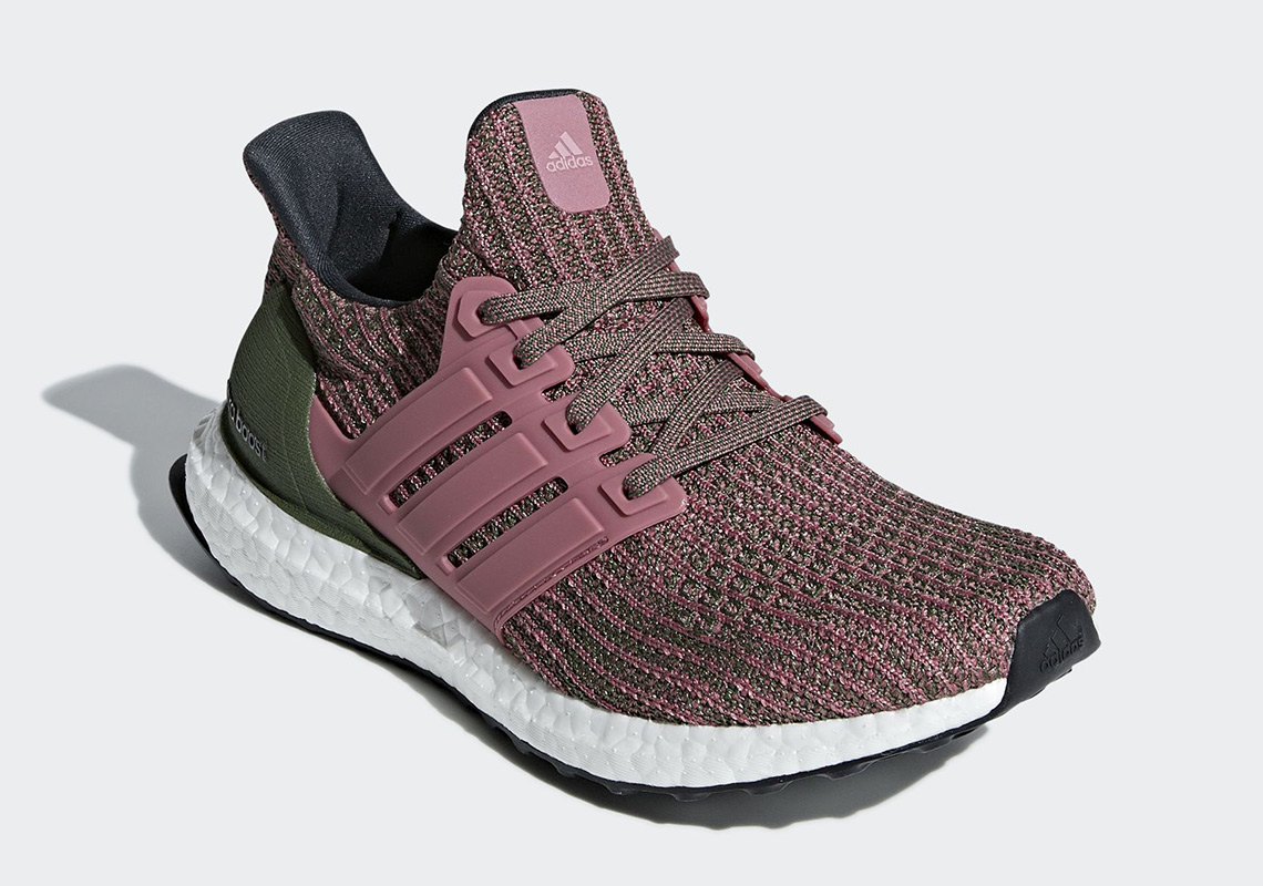 adidas Ultra BOOST 4.0 BB6495 Olive/Pink Release Info ...