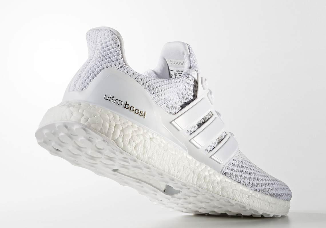 """e6b863ef7 ... Ultra Boost """"White Reflective"""". adidas3am ET  Foot Locker10am ET"""