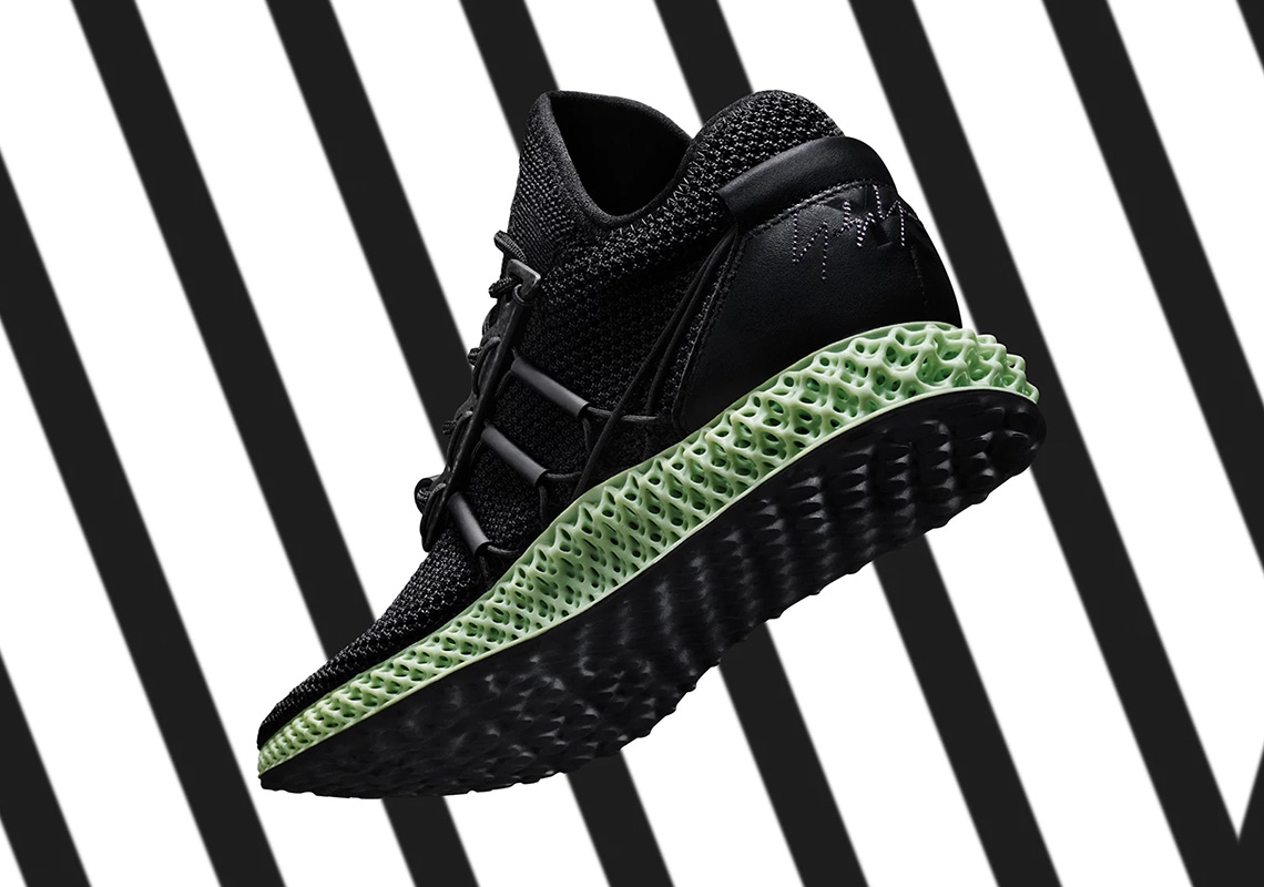 6b1683a29 The adidas Y-3 Runner 4D II Is Releasing With Black Uppers
