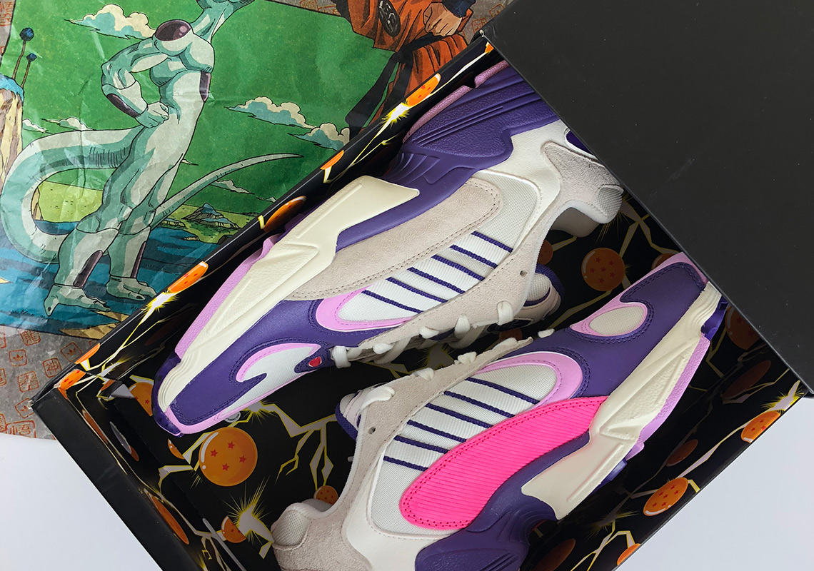 Dragon Ball Z adidas Yung-1 Frieza - Unboxing Video  80872a047