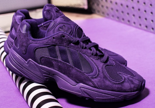 """The adidas Yung-1 Just Released In """"Triple Purple"""""""