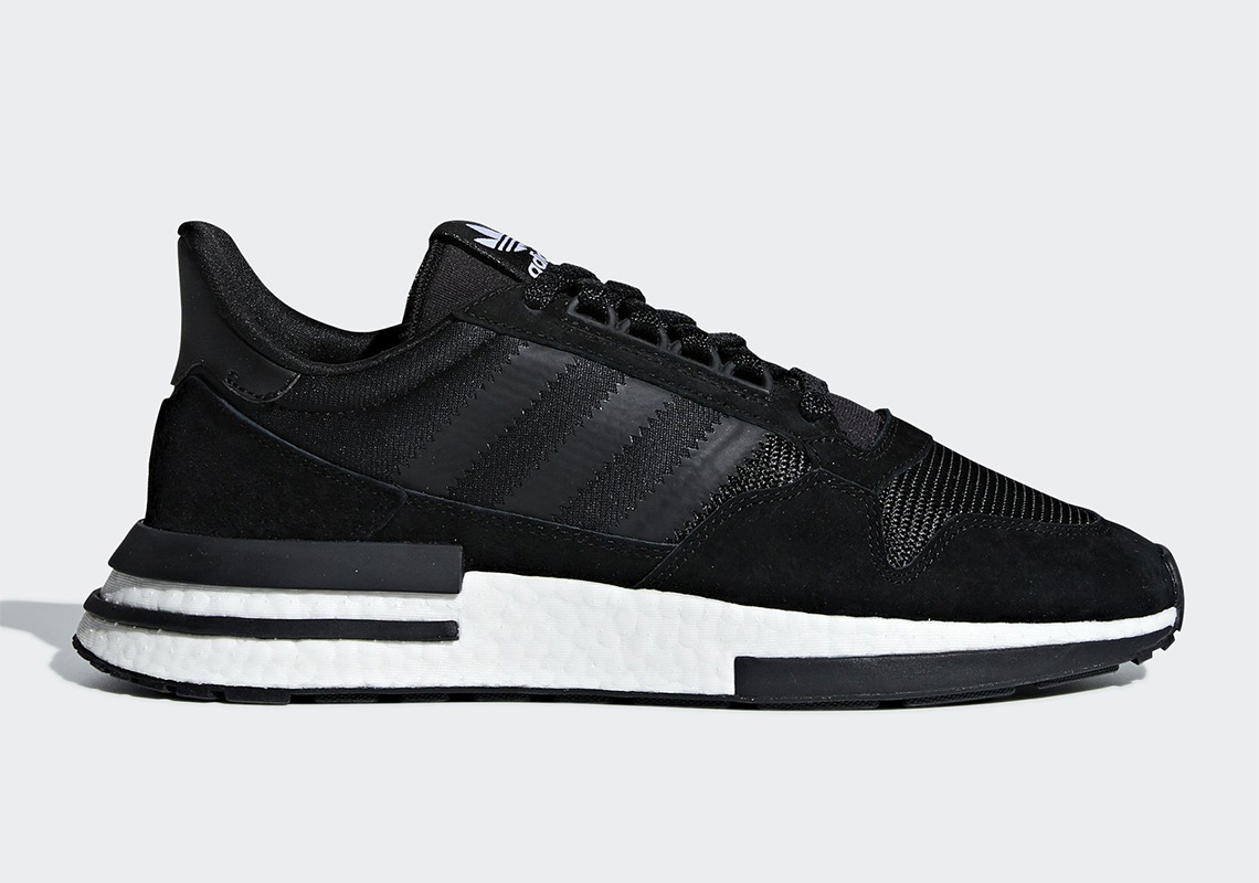 f5fdc3eb7 adidas ZX500 RM White + Black Release Info