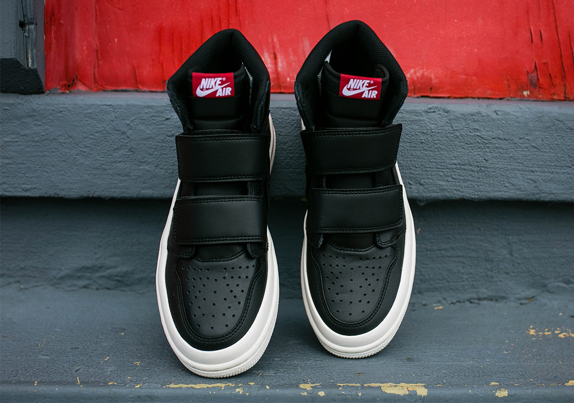 0adc2e176c4 The Air Jordan 1 Double Strap Is Available In Black And Sail