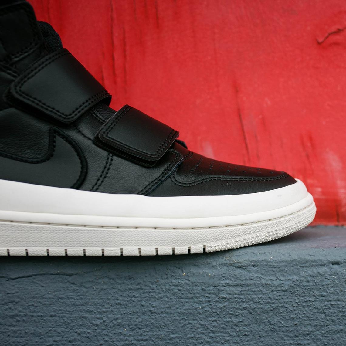 10386f476ea Air Jordan 1 Double Strap AVAILABLE AT Rock City Kicks  140. Color  Black Gym  Red Sail