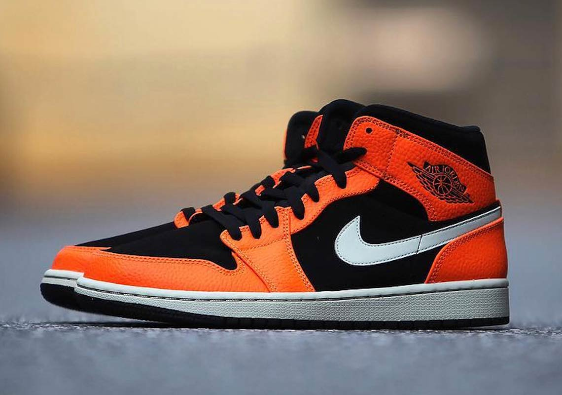 Shattered Backboard Vibes On This Air Jordan 1 Mid 4d7892d8141