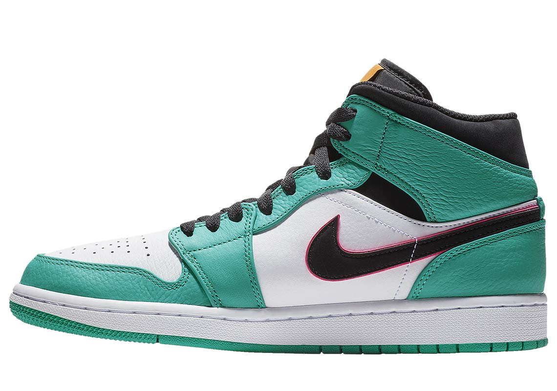 more photos 9adc7 6cb74 Air Jordan 1 Mid South Beach 852542-306 Buy Now   SneakerNews.com