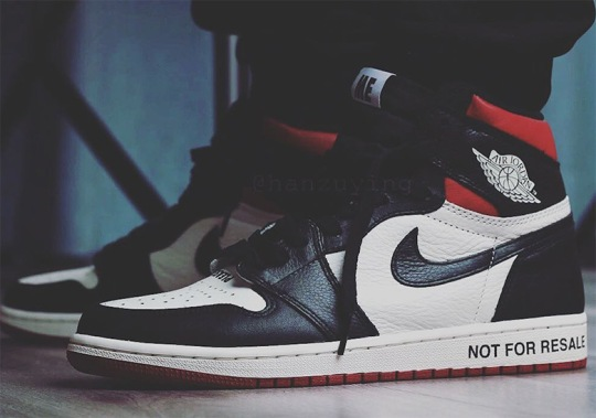 """Another Colorway Of The Air Jordan 1 NRG """"Not For Resale"""" Is Coming In December"""