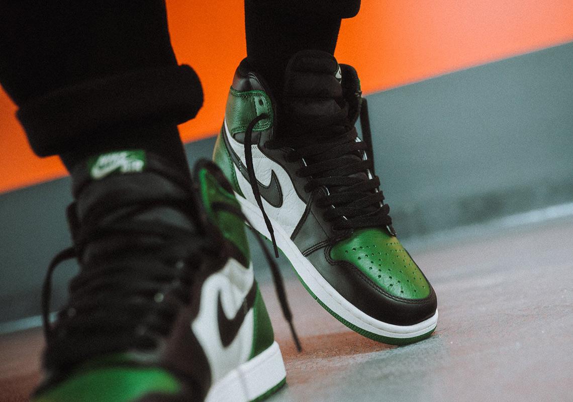 sports shoes c964b 8439c Air Jordan 1 Pine Green Where To Buy   SneakerNews.com