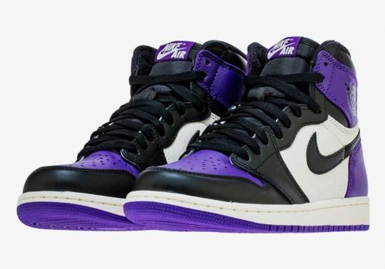 "Closer Look At The Air Jordan 1 Retro High OG ""Court Purple"""