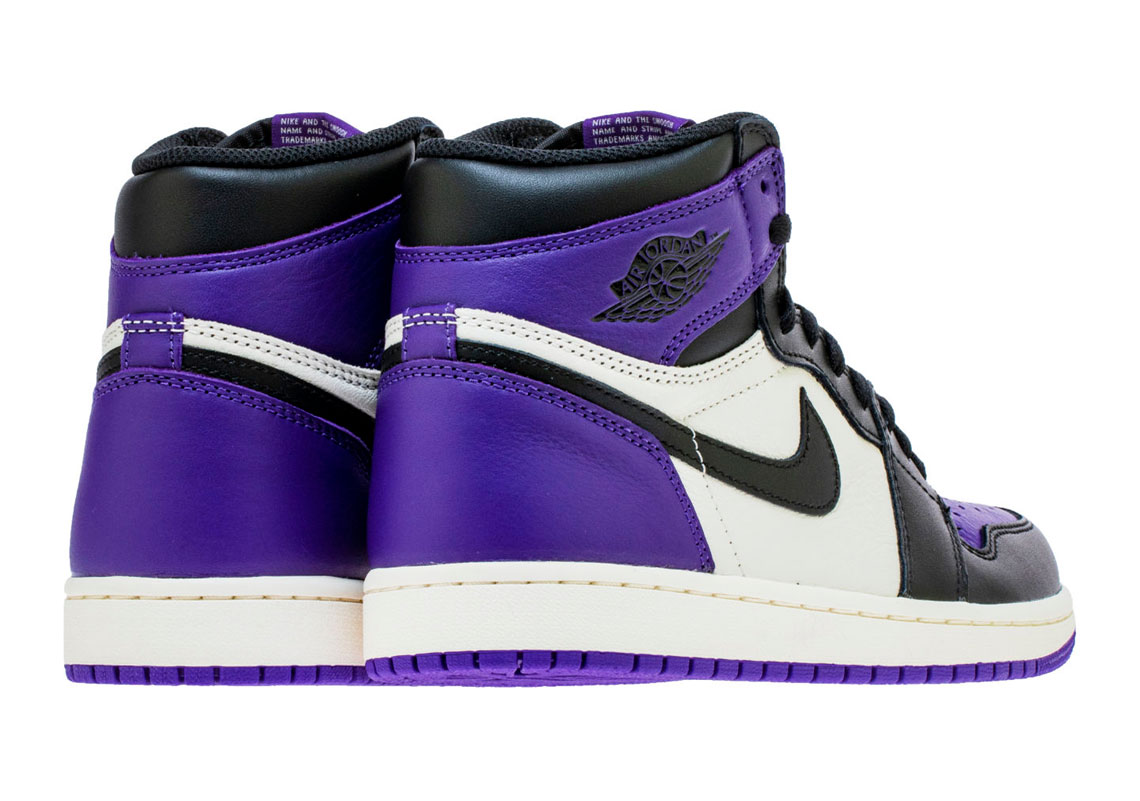 b8606e7fa29 Air Jordan 1 Retro High OG Court Purple Photos | SneakerNews.com