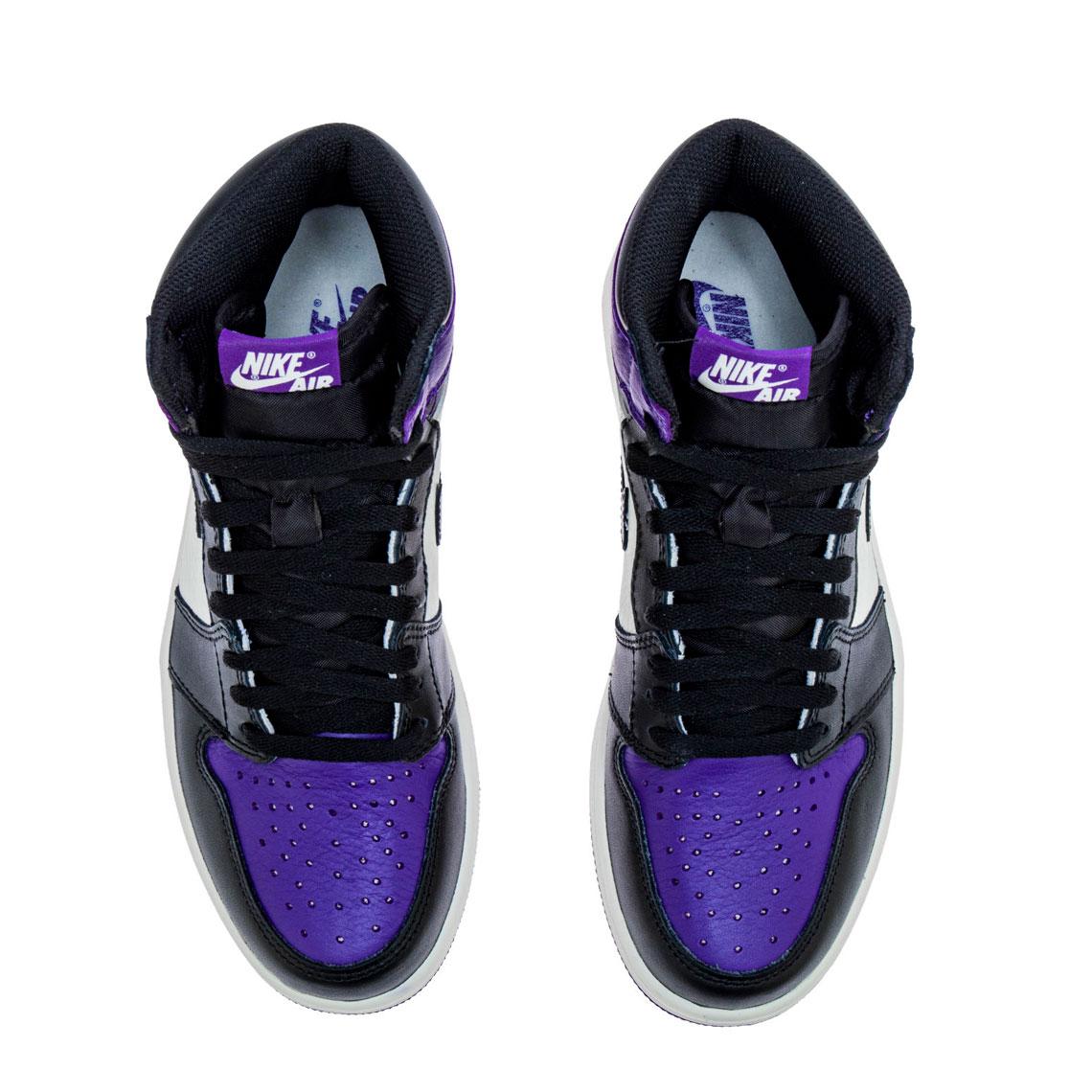 9c7025836739 Air Jordan 1 Retro High OG Court Purple Photos