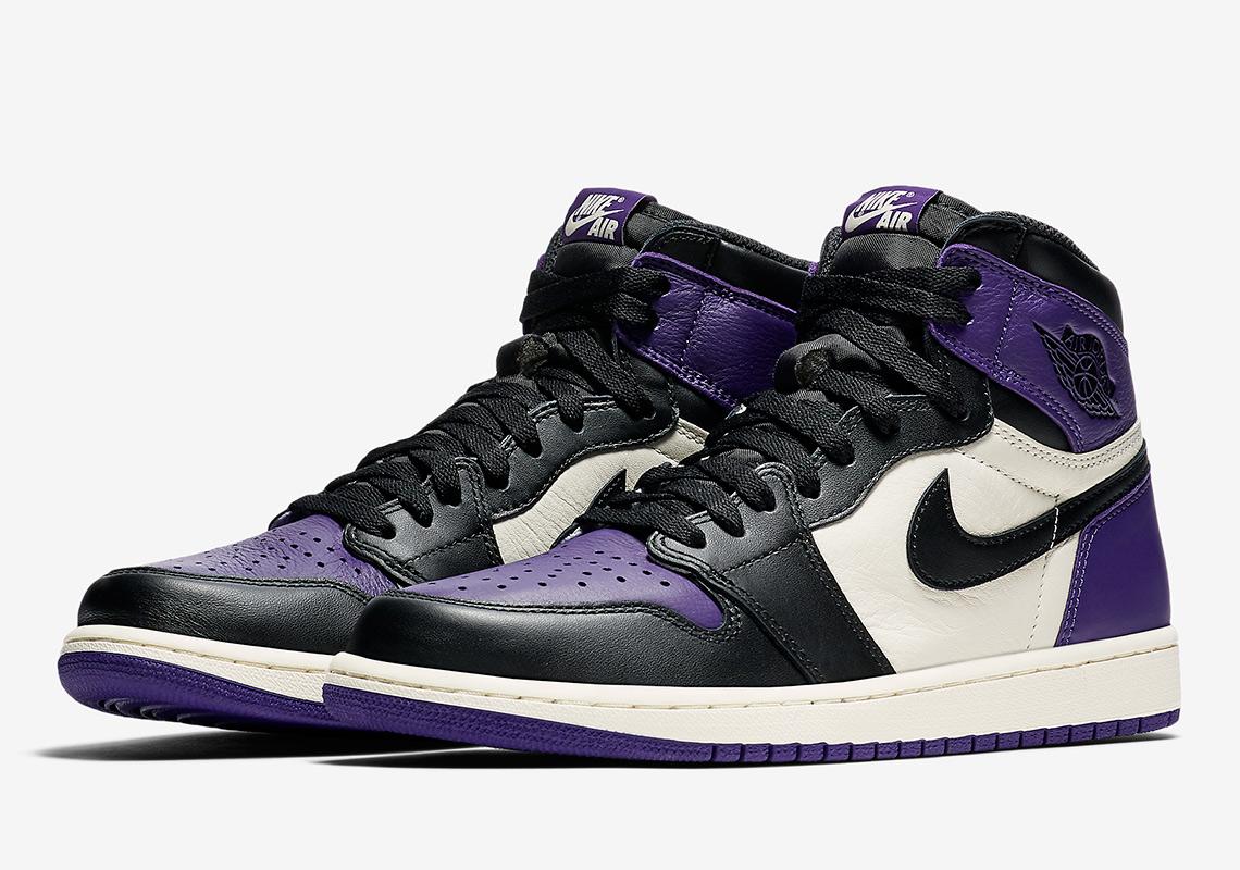 air jordan 1 mid se variety purple