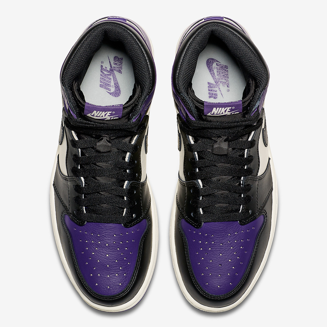 3c07c948596a7e Air Jordan 1 Court Purple Photos + Unboxing