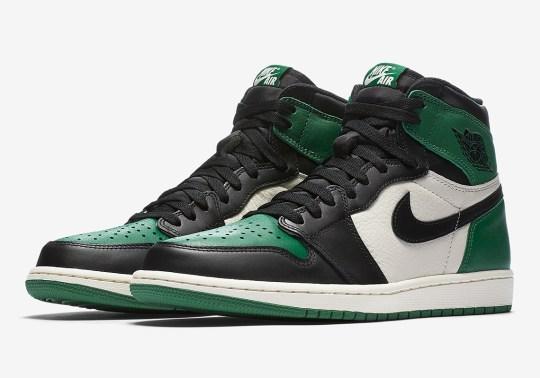 "Official Images Of The Air Jordan 1 Retro High OG ""Pine Green"""