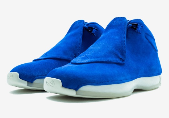 "Up Close With The Air Jordan 18 Retro ""Racer Blue"""
