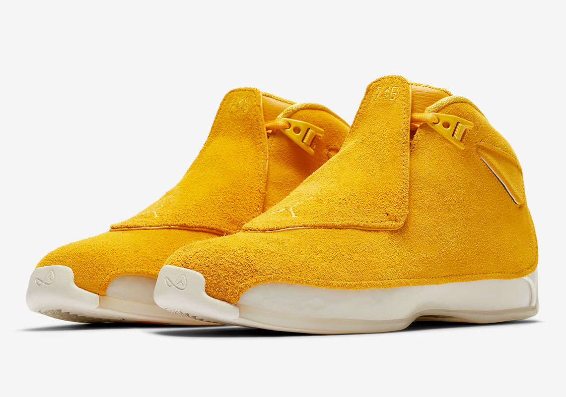 first rate 2f348 143a1 Air Jordan 18 Retro Release Date  September 15th, 2018. Color  Campfire  Orange Campfire Orange-Sail