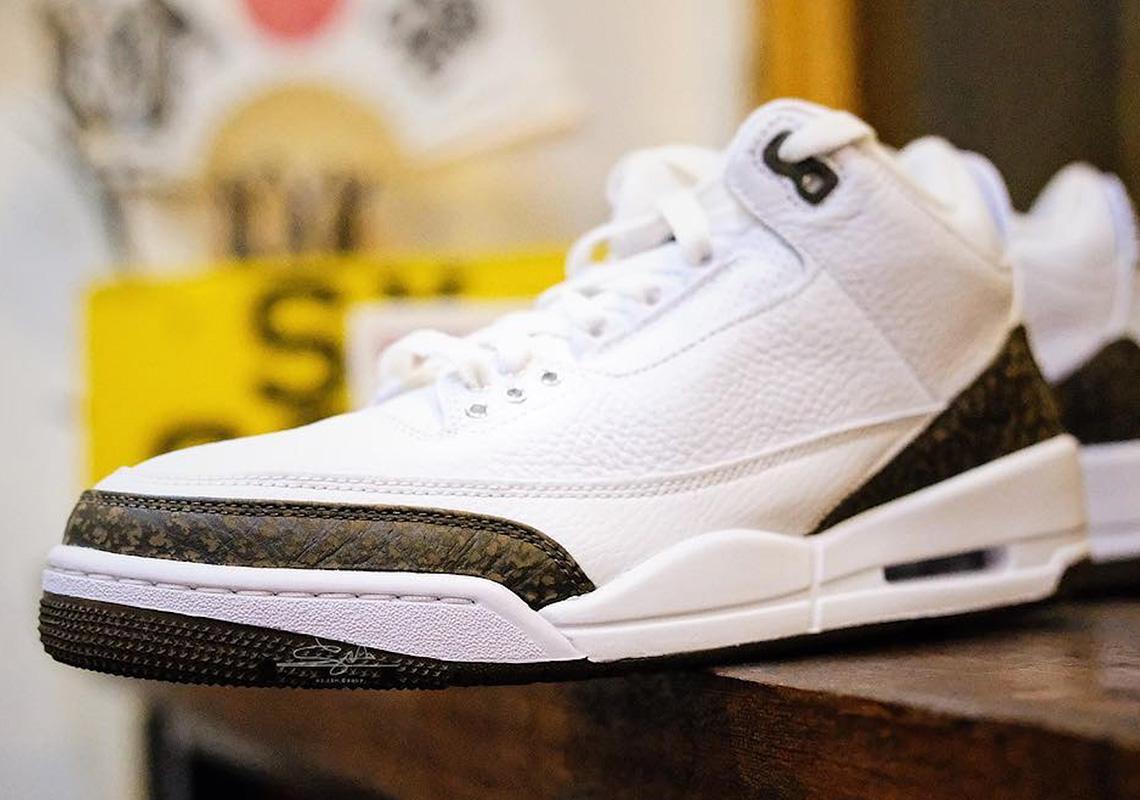 "b2f609f554f185 Detailed Look At The Air Jordan 3 ""Mocha"""