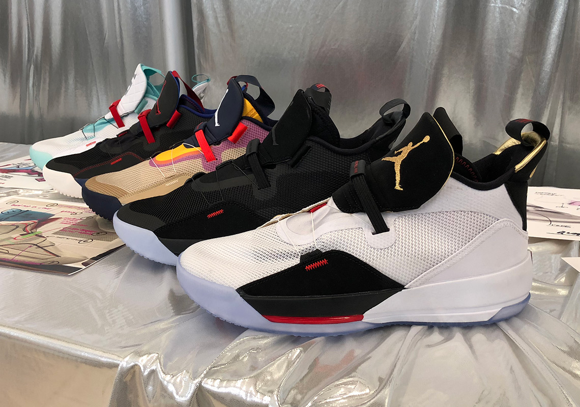 ab1b28e84d4e Preview All Five Upcoming Air Jordan 33 Colorways