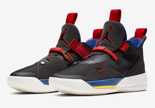 """The Air Jordan 33 """"Tech Pack"""" Is Dropping This October"""