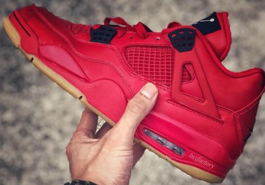 """Air Jordan 4 """"Red/Gum"""" And More Coming In 2019"""