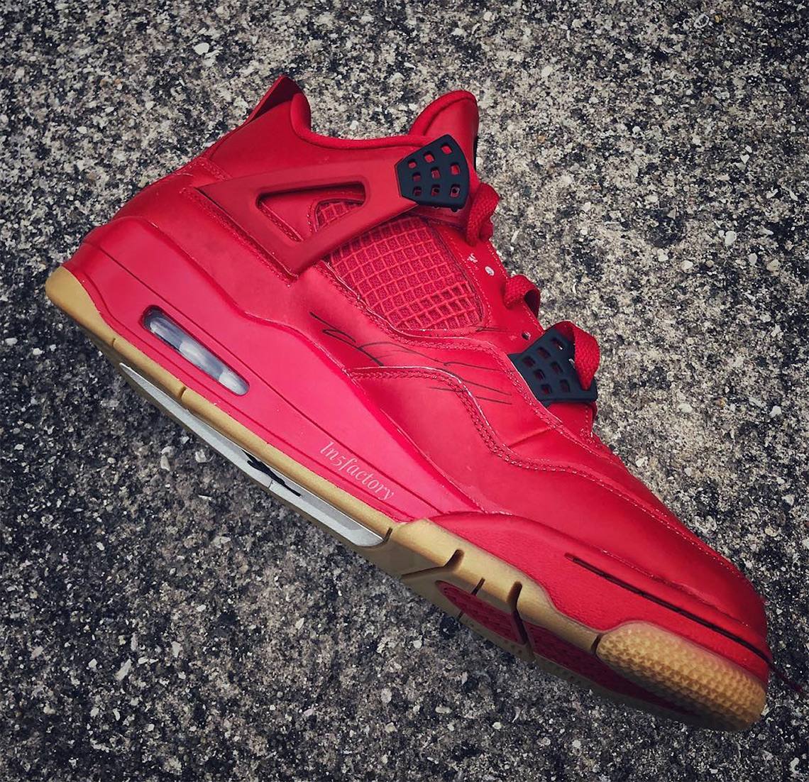 db6371b30172 Air Jordan 4 Red Gum 2019 Release Info