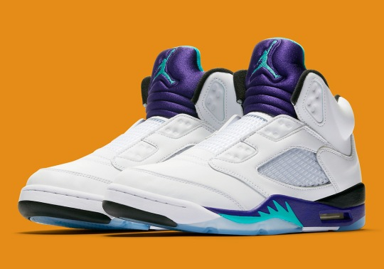 "Official Images Of The Air Jordan 5 NRG ""Fresh Prince"""