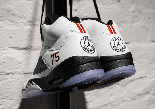 Up Close With The Air Jordan 5 PSG For Friends And Family