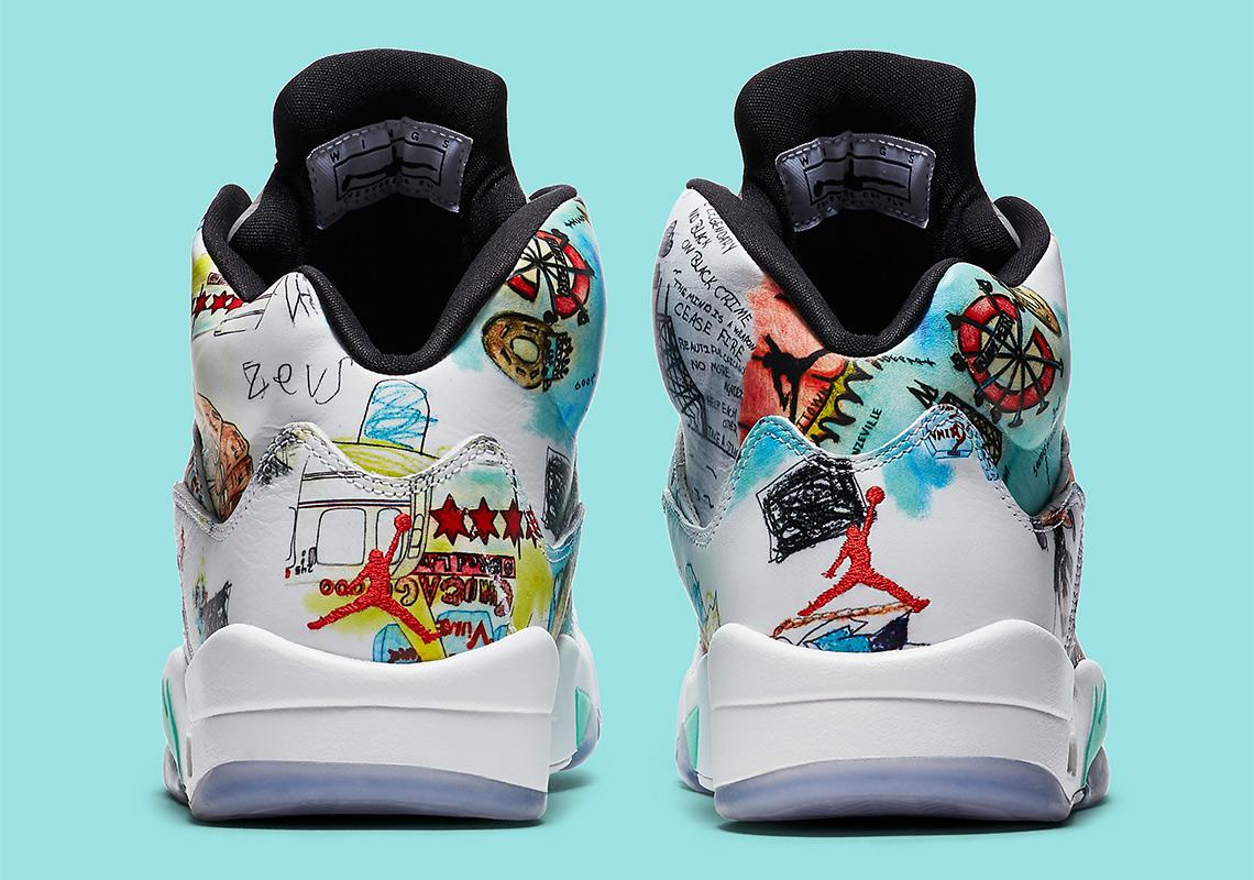 558cfc23b65 Air Jordan 5 WINGS Release Date AV2495-900