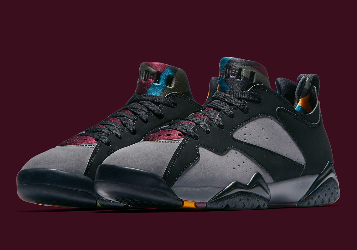 half off 131bf 4a838 ... greece air jordan 7 low release date september 27th 2018 140. color black  light graphite