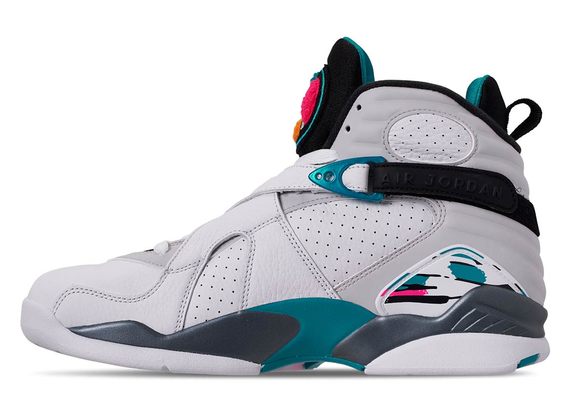 60ca10e40655 Air Jordan 8 South Beach Release Date