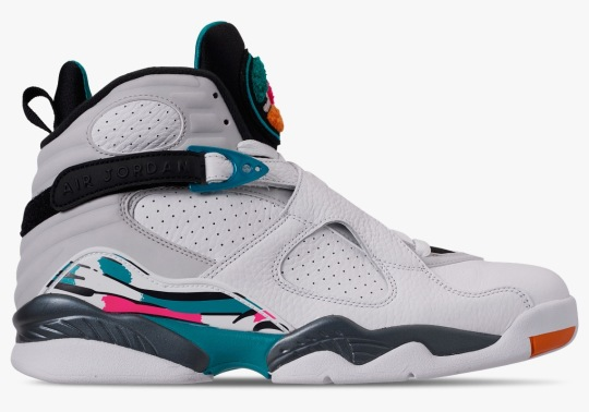 "The Air Jordan 8 ""South Beach"" Is Releasing In Full Family Sizes"