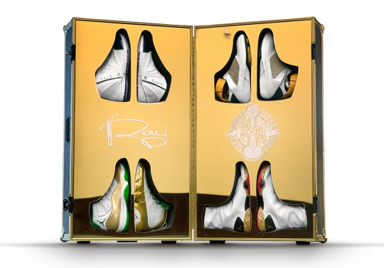 Jordan Brand Honors Ray Allen's Hall Of Fame Career With An Incredible Air Jordan PE Set