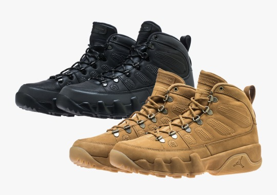 premium selection eeddf 26a5a The Air Jordan 9 Boot Returns This October In Two Colorways