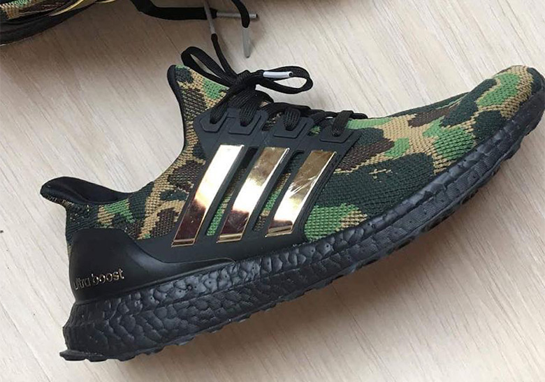 huge selection of ff182 0079c First Look At The BAPE x adidas Ultra Boost