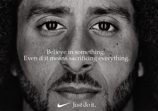 "Colin Kaepernick Featured In Nike ""Just Do It"" Ad"