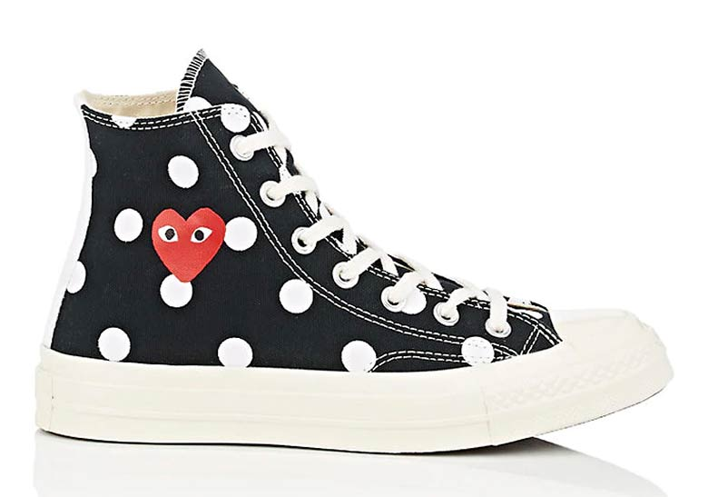 61c6b4f45273 COMME des Garcons Converse Chuck Taylor Polka Dot Available Now ...