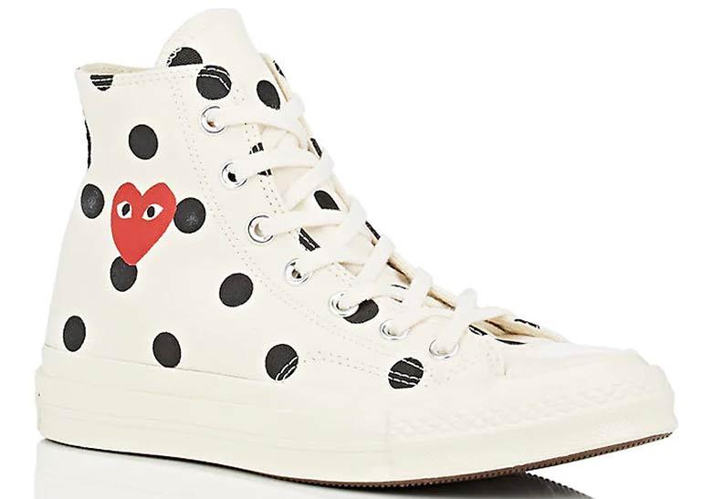 3f10ac2a81c0 COMME des Garcons PLAY x Converse Chuck 70 Low PRE-ORDER AT Barneys  135.  Color  Cream Black